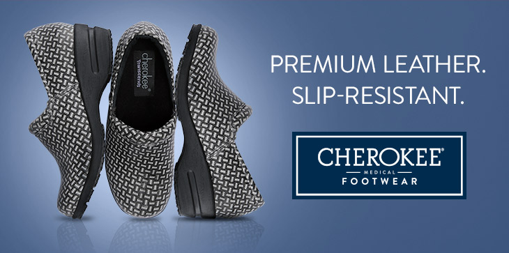 cherokee medical anti-skid footwear