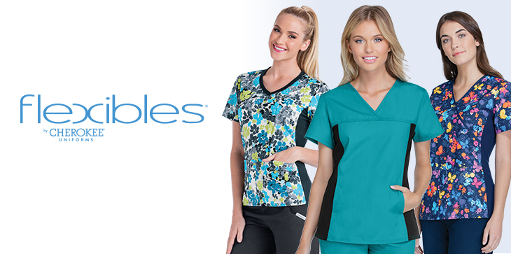Cherokee's Flexibles collection is an athletic-inspired lifestyle scrubs collection; designed for fit and performance.